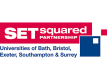 set squared logo